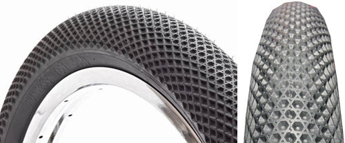 "Cult Vans 12"" Tire in black at Albe's BMX Online"