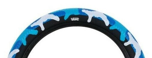 Cult Vans Tires Camo Edition in Blue Camo at Albe's BMX Online