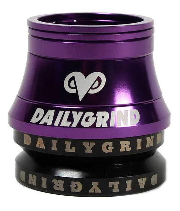 Daily Grind Headset in Purple at Albe's BMX Bike Shop