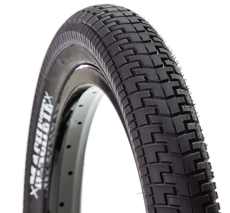 Demolition Machete Tire in black at Albe's BMX Online