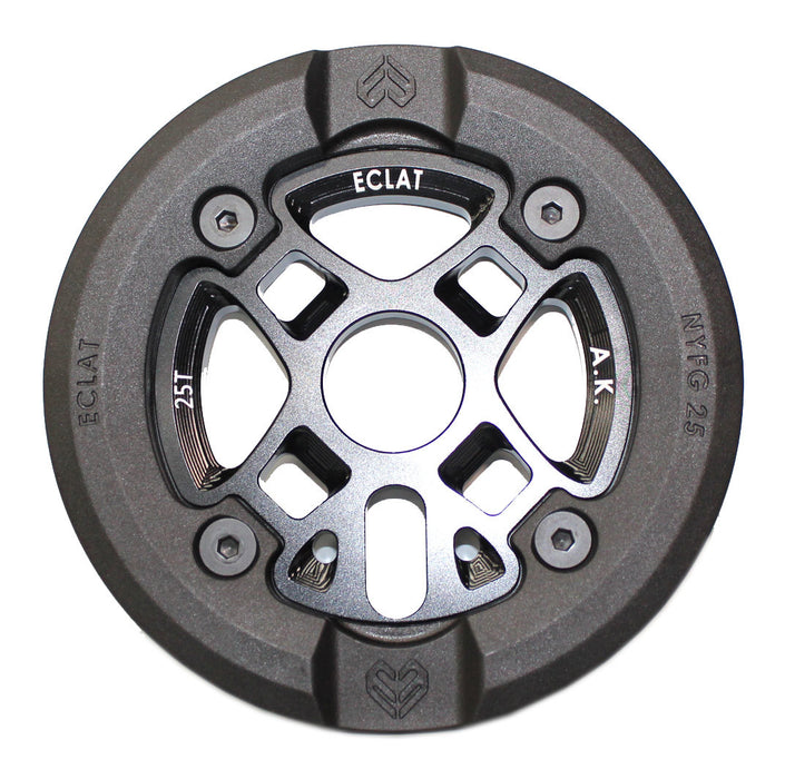 Eclat AK (Alex Kennedy) BMX Sprocket with guard at Albe's BMX Bike Shop