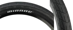 Eclat Mirage Folding tire in black at Albe's BMX