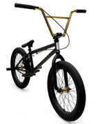 Elite BMX Destro Bike 2020 Black / Gold - 20.5