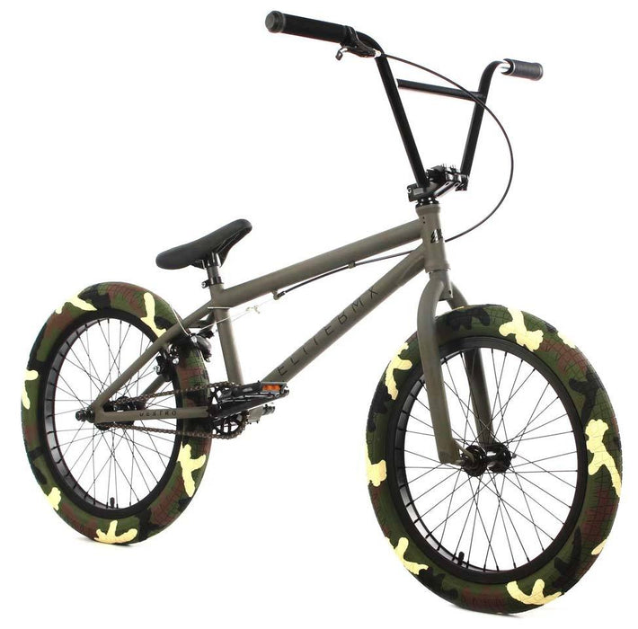 Elite BMX Destro Bike in Army Camo at Albe's BMX Online