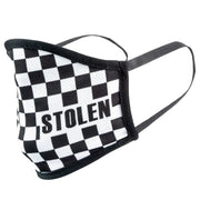 Stolen Fast Times Face Mask Checkered