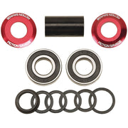 Fiction Savage Mid Bottom Bracket Red / 19mm