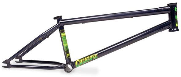 Fiction Creature frame in black at Albe's BMX Bike Shop