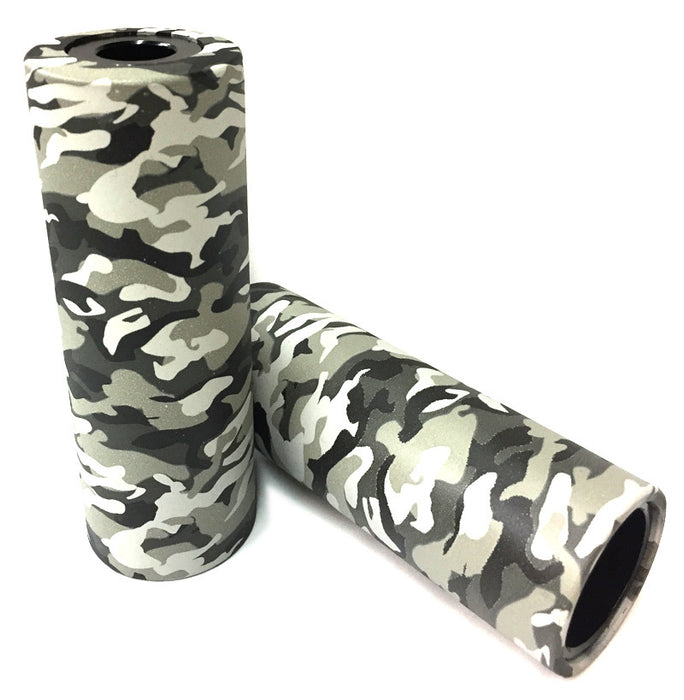 Stolen Silencer BMX Pegs in Urban Camo Color at Albe's BMX