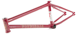 Fit Bike Co. Begin Frame in Ron Burgundy at Albe's BMX Bike Shop Online