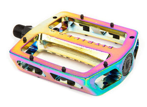 Fit Mac Alloy Pedals in oil slick at Albe's BMX Online
