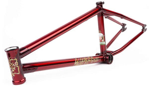 Fit Sleeper Frame in Red at Albe's BMX Online