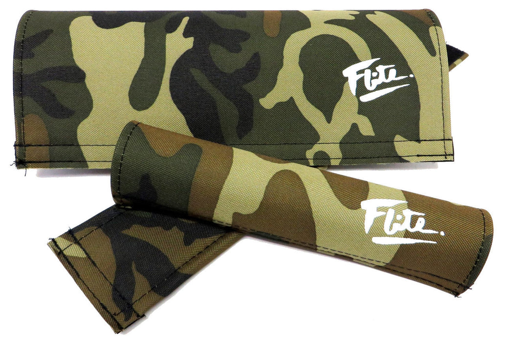 Flite Padset for BMX in Camo at Albe's BMX Bike Shop