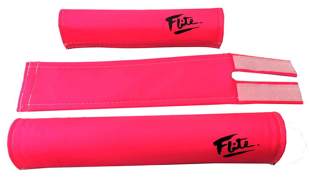 Flite Padset for BMX in Pink at Albe's BMX Bike Shop