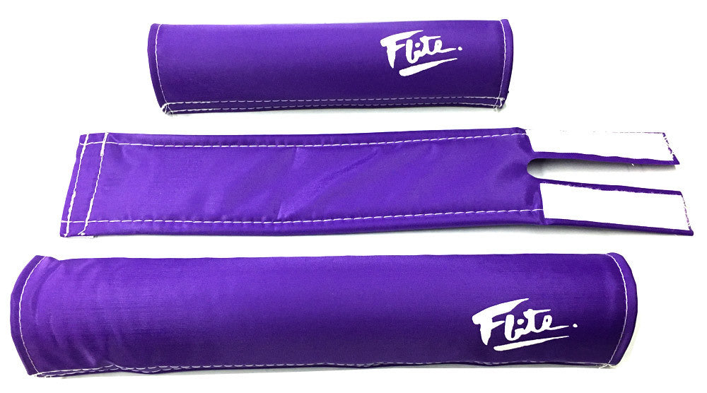 Flite Padset for BMX in Purple at Albe's BMX Bike Shop