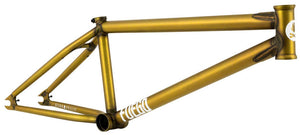 Fly Bikes Fuego 5 Frame in Trans Gold at Albe's BMX Bike Shop