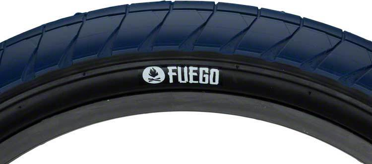 Fly Bikes Fuego Tire In blue at Albe's BMX Bike Shop Online