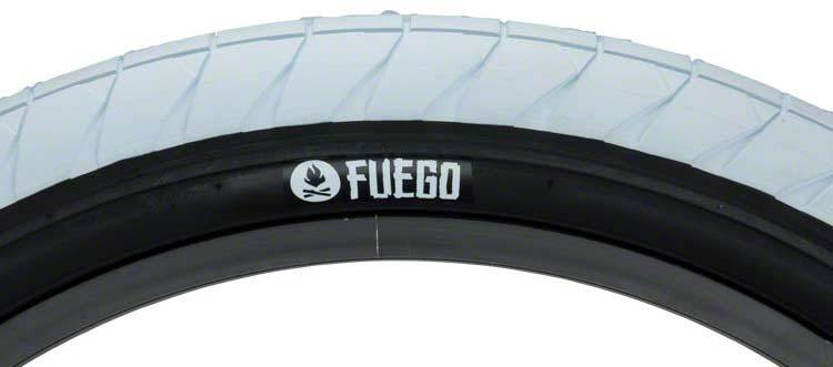 Fly Bikes Fuego Tire In white at Albe's BMX Bike Shop Online
