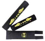 GT Santa Ana Wings BMX Pads By Flite Black