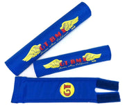 GT Santa Ana Wings BMX Pads By Flite Blue