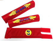 GT Santa Ana Wings BMX Pads By Flite Red