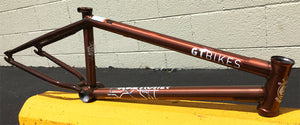 GT Bikes Globetrotter BK BMX Frame in Copper at Albe's BMX Bike Shop