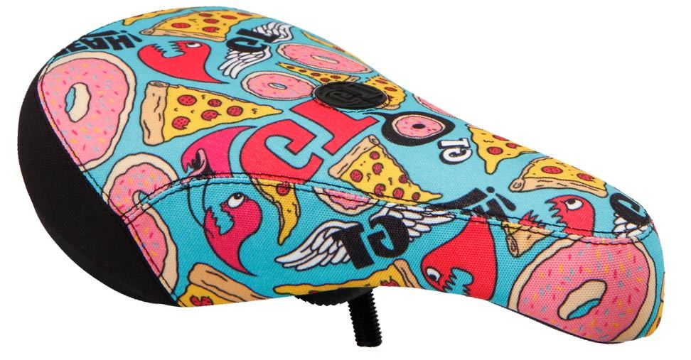 GT Bikes Vantage Pivotal Seat in Junkfood color at Albe's BMX Shop