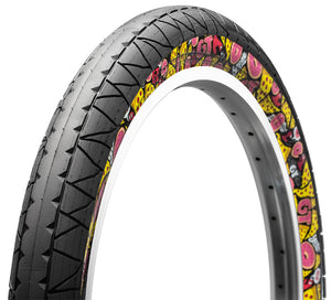 GT Bikes Pool Tire with Junk food side wall at Albe's BMX Bike Shop