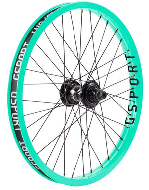 Gsport Elite Freecoaster rear Wheel in toothpaste at Albe's BMX Bike Shop Online