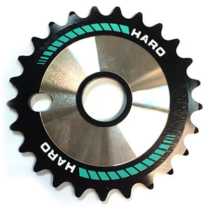 Haro Team CD Sprocket in Teal at Albe's BMX