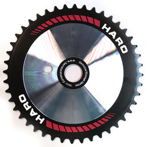 Haro Team Disc CD Sprocket in 44t black / red color at Albe's BMX