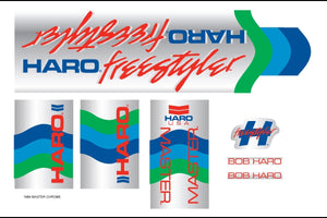 HARO RETRO FRAME DECAL KITS
