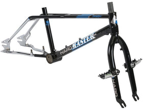 Haro Master 1988 Vintage Frame Kit in Black at Albe's BMX Bike Shop Online