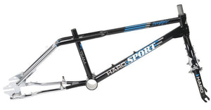 Haro Sport 1988 Vintage Frame Kit in Black at Albe's BMX Bike Shop Online