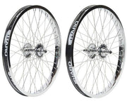 HARO VINTAGE 48 WHEEL SET Chrome/48 Spoke