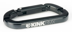 Kink Carabiner spoke wrench in black at Albe's BMX Bike Shop
