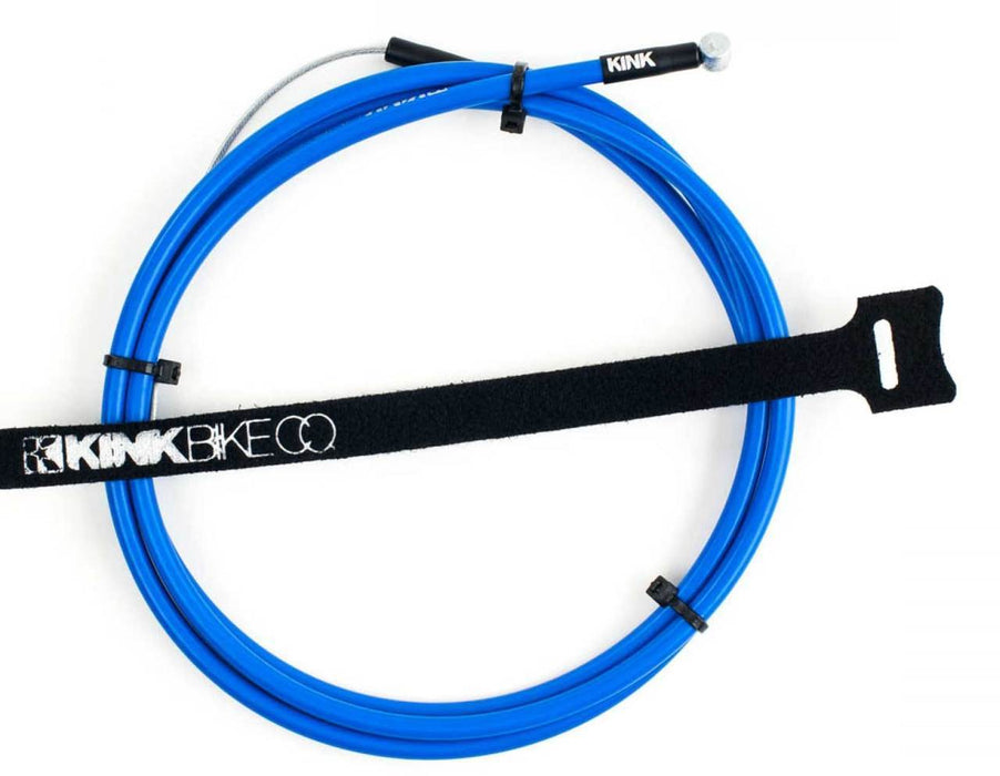 Kink Linear Cable In Blue at Albe's BMX Bike Shop