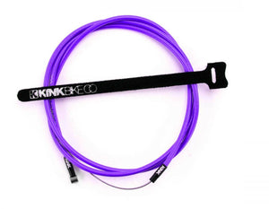 Kink Linear Cable In purple at Albe's BMX Bike Shop