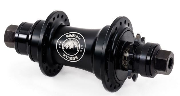 Kink Yukon Cassette Hub in Black at Albe's BMX Bike Shop