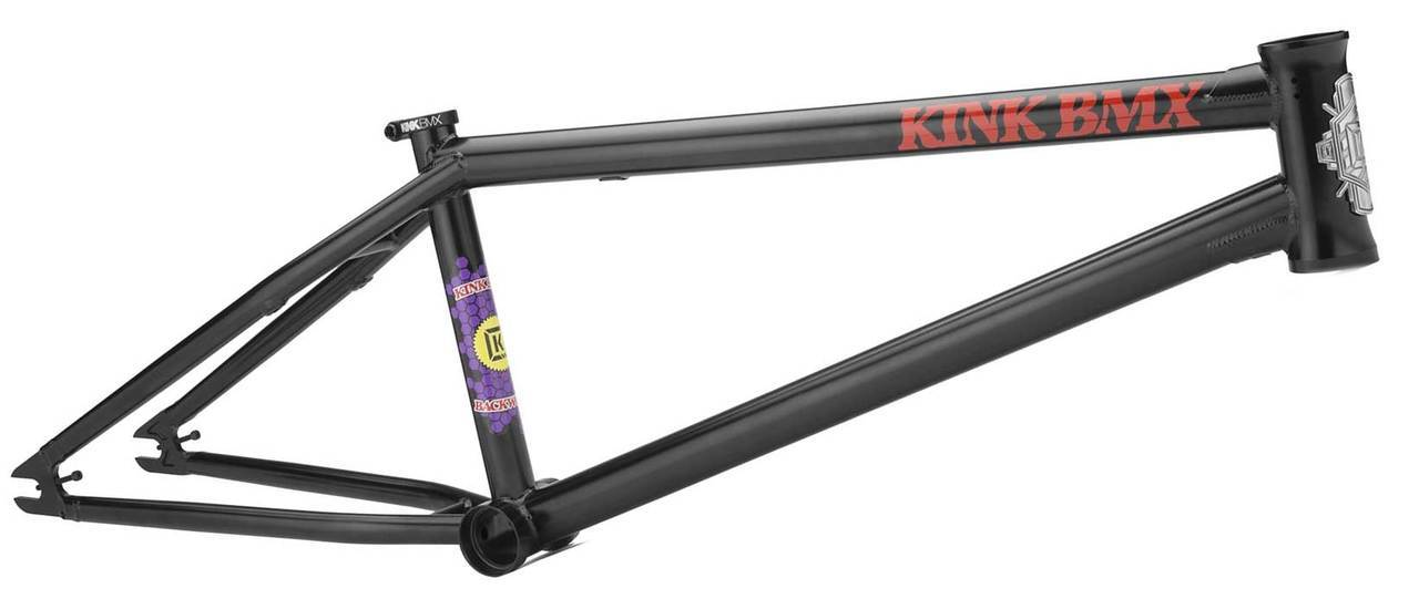 Kink Backwoods Frame in Black at Albe's BMX Online