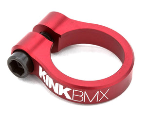 Kink Master BMX Seat Post Clamp in Red at Albe's BMX