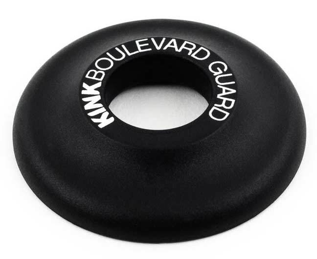 Kink BMX Boulevard front hub guard in black at Albe's BMX Bike Shop Online