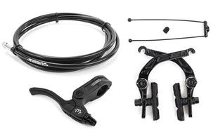 Mission Cease Brake kit in black at Albe's BMX Bike Shop