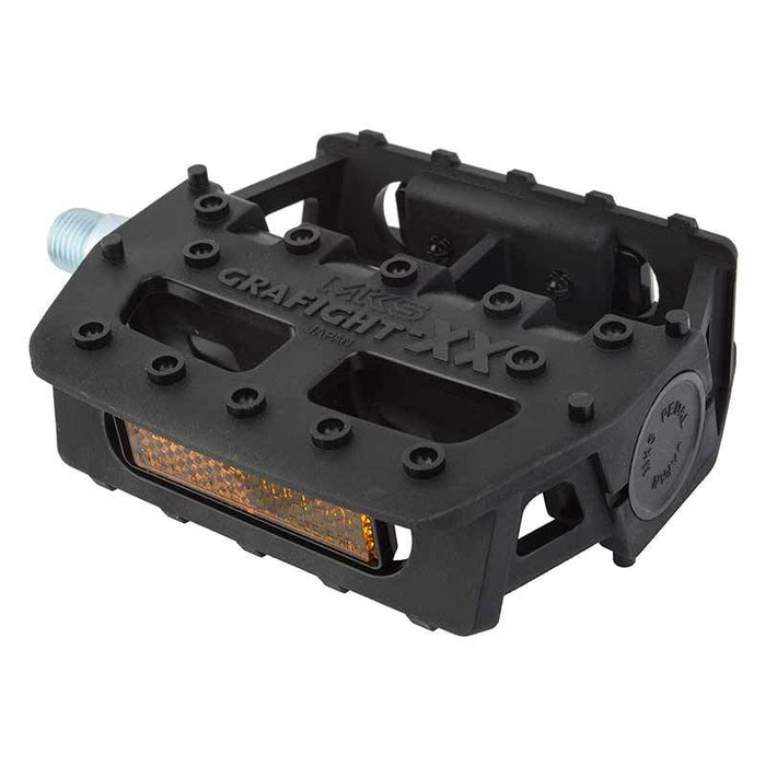 MKS Grafight-XX Pedals in Black at Albe's BMX Online