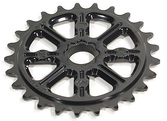 Madera Helm Sprocket in Black at Albe's BMX Bike Shop
