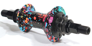 Madera Pilot V.2 Cassette hub in the Party Paint color option at Albe's BMX