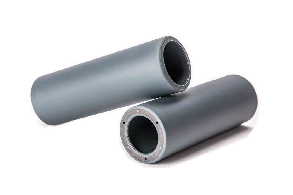 Merritt GFE Peg Sleeve in grey at Albe's BMX Bike Shop