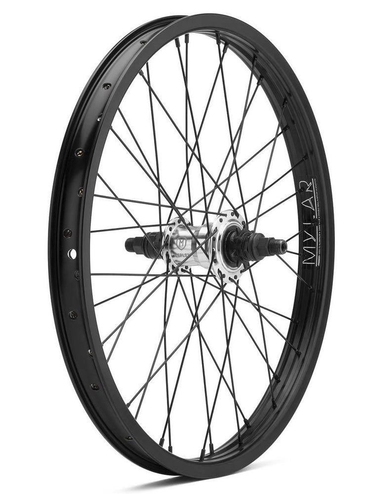 Mission Deploy Freecoaster Wheel in black silver at Albe's BMX