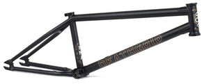 Mutiny Death Grip Frame in Black at Albe's BMX