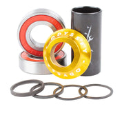 Odyssey Mid Bottom Bracket Gold / 19mm