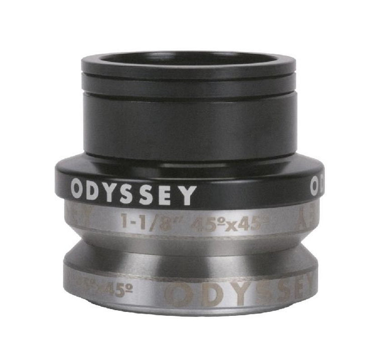 Odyssey Integrated Pro Headset in Black at Albe's BMX